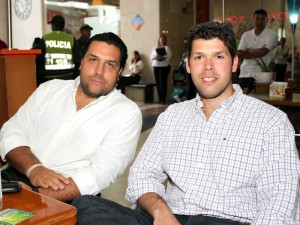 Jorge Turbay y Felipe Turbay.