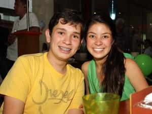 Nicolás Grau y Valentina Infante.