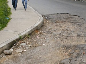 Cráteres que están alrededor de la glorieta de Molinos