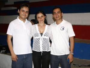 Camilo Andrés Olarte, Doris Luna Rodríguez y Carlos Ariel Martínez.