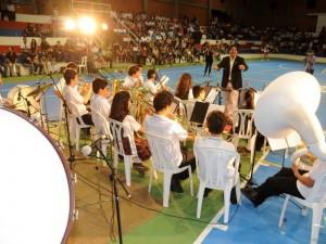 Un éxito fue catalogado el Primer Festival de Bandas y Ensambles Sinfónicos.