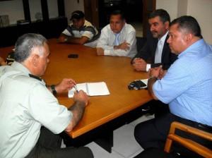 La reunión en la que participó Alcaldía, Policía y Clínicas de El Bosque quiso encontrar soluciones para mejorar la seguridad y movilidad. (FOTO Suministrada)