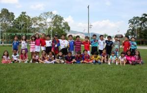 Pablo Alberto Camacho Naranjo celebró su cumpleaños con un partido de fútbol en el Club Campestre.