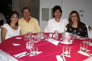 Martha Valbuena, Reinaldo Durán, Justiniano Martínez y Olga Lucía Gómez. (FOTOS Mauricio Betancourt)