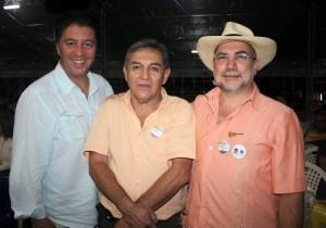 John Jairo Torres de la Pava, Luis Carlos Villamizar y Puno Ardila Amaya. (FOTOS Nelson Díaz)