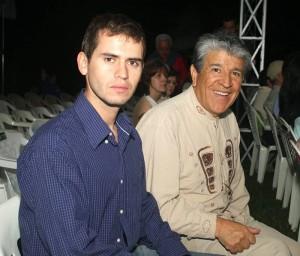 Camilo Barrios y Laureano Córdoba, delegado de Nariño.
