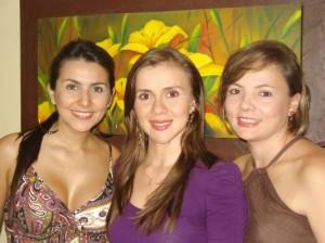 Juliana Osma Gamboa, directora de diseño y producción; Claudia Patricia Chaparro, representan legal y directora financiera; y Sandra Bibiana García, directora comercial.