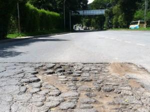 Una situación provocada por el descuido de las diferentes administraciones municipales con las calles del sector. (FOTOS Nelson Díaz)