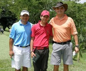 Frank Serrato Roa, Juan Felipe Guzmán y Jorge Arenas Canal.