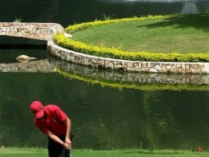 El Club Campestre y Ruitoque Golf Country Club serán la casa de golfistas profesionales. (FOTOS Javier Gutiérrez)