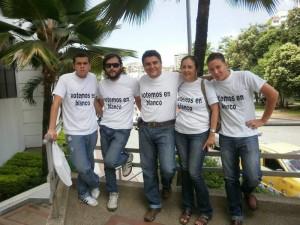 Oscar Eduardo Carreño, Carlos Eduardo Carreño, Pedro Javier Rincón, María del Pilar Ardila y Jesús Ramírez hacen parte de este grupo. (FOTOS Suministradas)