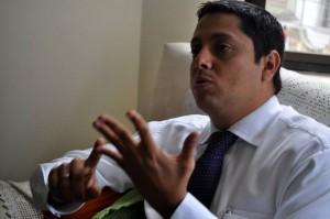 Néstor Díaz, aspirante a la Alcaldía de Floridablanca por el Partido Conservador, renunció el miércoles a su cargo de diputado de la Asamblea de Santander para dedicarse a su campaña por la Alcaldía. (FOTO Archivo)