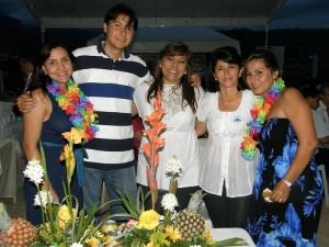 Jenny Carolina Sepúlveda, Álvaro Blanco, Martha Madiedo, Ángela María Navia y Viviana Zapata.  (FOTOS Javier Gutiérrez)