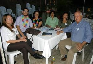 Marlene Espitia, Mauricio Erazo, Adriana Jácome, María Eugenia Parra, Laura Zulay Ruiz y Astolfo Contreras