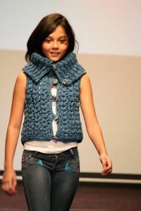 Eimi fue la mejor pasarelal para mostrar las nuevas tendencias en la moda infantil. (FOTOS Mauricio Betancourt)