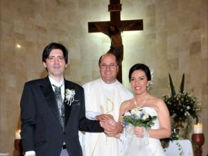 Con una ceremonia Juan Martín Serrano Serrano y Liliana Gómez Navarrete se unieron en matrimonio.