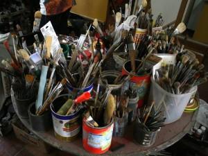 El maestro también se dedicó a la enseñanza de talleres de dibujo y color en el antiguo Dicas.