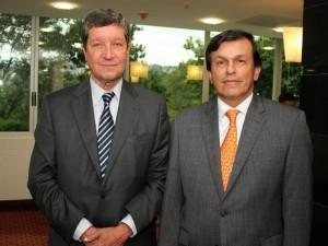 Augusto Martínez Carreño y Rafael Marín Valencia. (FOTOS Nelson Díaz)