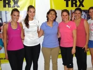 Camila González, María Fernanda Moreno, Gloria Bueno, Luisa Díaz, Carolina Amaya y Silvia Díaz.