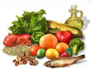 Toda dieta balanceada debe incluir frutas y verduras frescas.