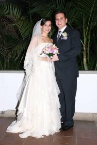 Matrimonio Laura Carolina Rojas Puente y Diego Fernando León Quintero. (FOTO Mauricio Betancourt)