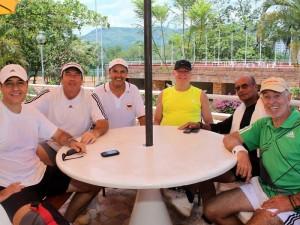 Gonzalo Escandón, Fernando Yepes, Jorge Ortiz, Eduardo Gómez, Jorge Villar y Hermann Alfonzo.