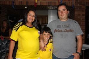 Marisol Triana, Carlos Daniel y Carlos Díaz.
