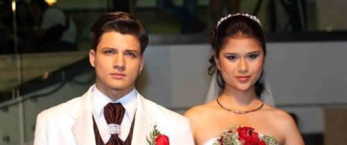 Vestidos de novia románticos y actuales