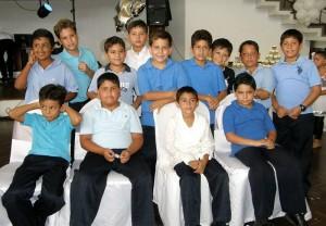 La recepción se realizó en el Club Campestre de Bucaramanga. (FOTOS Javier Gutiérrez)