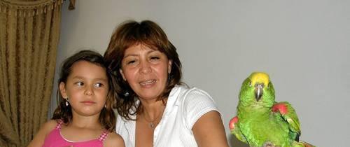 'Toto' volvió para felicidad de una familia
