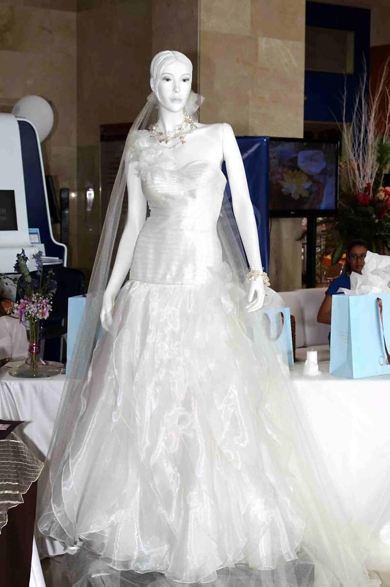 Vestidos de novia en velo suizo