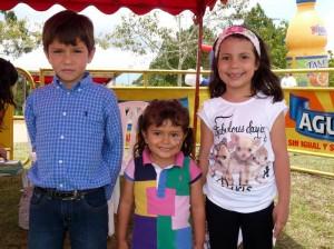 Freddy Alberto Clavijo Mojica, Luz Nicolle Clavijo Mojica y Laura Catalina Oviedo Salazar.