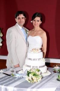 Matrimonio  Lina Acevedo Cardona y Felipe Arango Uribe. (FOTO Mauricio Betancourt)
