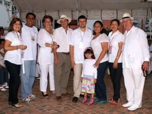 Sonia Moreno, Mauricio Pinillos, Amparo Navas, Abraham Sepulveda, Sergio Blanco, Ester Arenas, Manuela Barbosa, Edilma Reyes y Carlos Alberto Rey Soto.