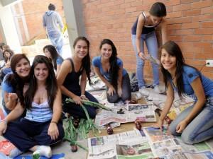En el marco de la celebración de los 41 años  de creación, el Fundación Colegio UIS celebró su semana cultural del 16 al 19 de agosto. (FOTO Hernando Galeano)
