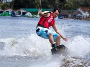 Bucaramanga a través del Club Náutico Acuarela será sede del I Torneo Departamental de Wakeboard: esquí sobre tabla. (FOTO Suministrada)