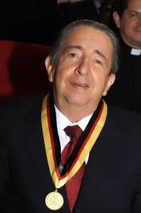 Luis Enrique Aramburo Bolaños recibió, en la celebración de los 20 años, el Orden al mérito categoría Fundador. (FOTO Suministrada)