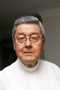 Monseñor Néstor Navarro Barrera recuerda el proceso de formación de la Universidad Pontificia Bolivariana. (FOTO Archivo)
