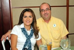 Sandra Lucía Torres y Alberto Ordoñez.