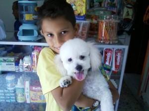 Aquí 'Tommy' junto a Diego. (FOTO Suministrada)