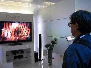 Los televisores 3D ya se pueden encontrar en el mercado.