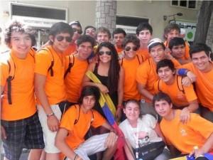 16 jóvenes del Club Faro disfrutaron en la JMJ. (FOTOS Suministradas)