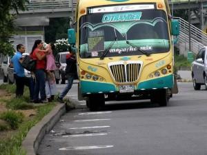 Una de las rutas que será reemplazada con Metrolínea es Igsabelar. (FOTO Mauricio Betancourt)
