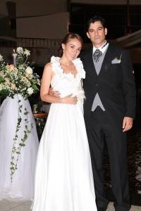 Matrimonio de  Nelson Padilla y Carolina Palomino. (FOTO Mauricio Betancourt)