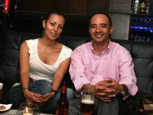 Claudia Murillo y Wilson Chica. (FOTOS Mauricio Betancourt)