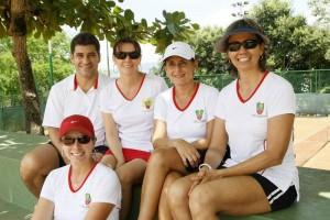 Paola Gómez, Sergio Fuentes, Claudia Gómez, Claudia Plata y Ximena Mutis.