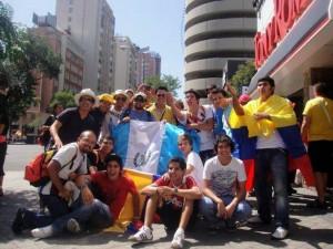 El encuentro con jóvenes de otras culturas, también fue un valor agregado para los participantes de la JMJ.
