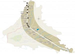 Este es el recorrido por los sectores para mirar cómo se encuentran los separadores.