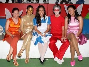 Laura González, Alejandra Orejarena, Julián Ortega, Juan Felipe Porras y Laura Catalina Aguirre.