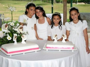 Valentina Peña Parra, Valeria Almeida, María Paula Sandoval y María Paula James.